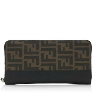 FENDI ZUCCA AUTHENTIC WALLET LAST PRICE POSTED