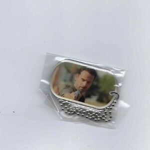 The Walking Dead season 2 Rick Grimes dog tag Andrew Lincoln 11
