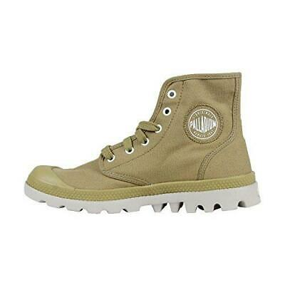 NIB Palladium Pampa Hi Lite CVS Men's Ankle Hiking Combat Boots Dark Khaki/Vapor
