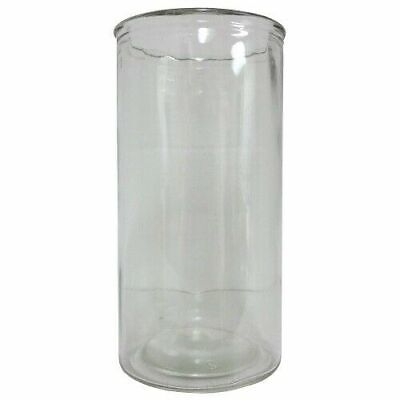 VELADORA Glass Cylinder Vase EMPTY 4 X9 In 12-Pack Cheap Wholesale Discount Bulk