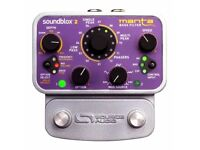 Sound Audio SoundBlox 2 Manta Bass Filter fuzz Pedal .optional hothand transmitter ring receiver
