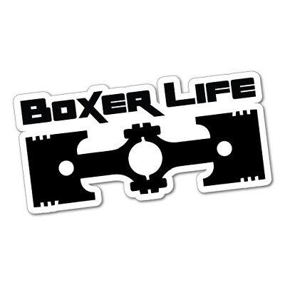 BOXER LIFE Sticker Decal Car Drift Turbo Euro Fast Vinyl #0557ST