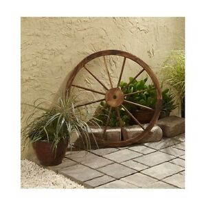 Wood yard decorations ebay for Wooden garden ornaments and accessories
