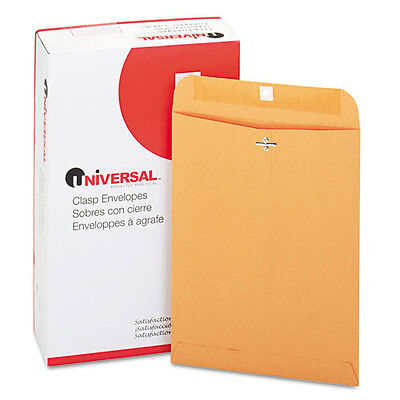 100 Universal 9x12 Clasp Envelopes Mailing Kraft Clasp Manila Catalog Brown 90