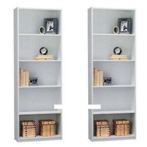 Bookcase New Used Corner Wood Narrow Ladder Ebay