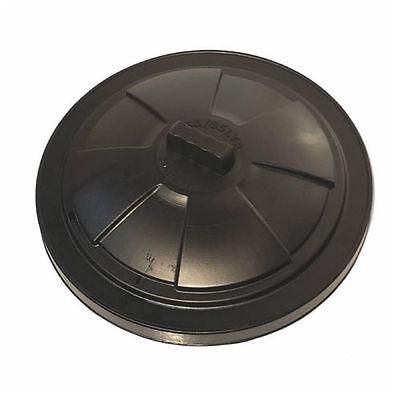 80 85 LITRE  REPLACEMENT BIN LID BLACK PLASTIC WASTE RUBBISH DUSTBIN -