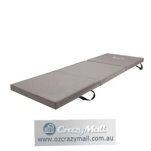 Everfit Trifold Exercise Mat Floor Blue/Black/Grey Sydney City Inner Sydney Preview