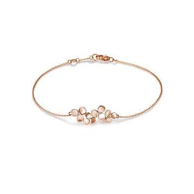 (GOLDEN DEW SWEET BLOOM BRACELET G0000000315 18K Pink Gold Diamond Floral Arafeel)