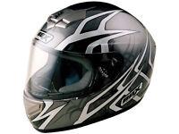 BOX BX-1 'WEB' Full Face Motorcycle Helmet - New in box