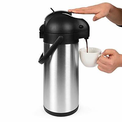 Cresimo 101 Oz 3l Airpot Thermal Coffee Carafe And Coffee Serverlever Action