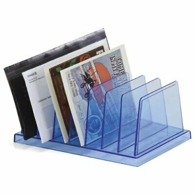 Desk File Sorter Office Document Organizer Home Letter Holder Desktop Rack