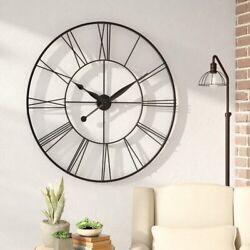 Oversized Grafton 45 Wall Clock Modern Wall Decoration Modern Contemporary