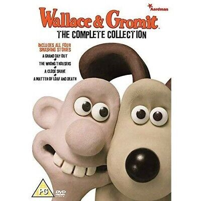 WALLACE & GROMIT - The Complete Collection REGION 2 PAL DVD