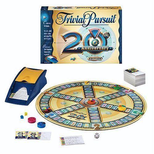 trivial pursuit 20th anniversary edition ebay