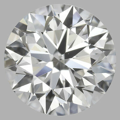 2.50 carat Loose Round Diamond I color VS1 Triple Excellent w/ GIA certificate