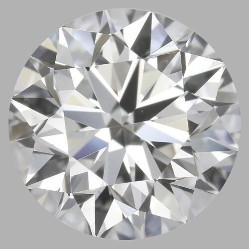 3.01 carat Loose Round Diamond H SI1 Triple Excellent w/ GIA certificate