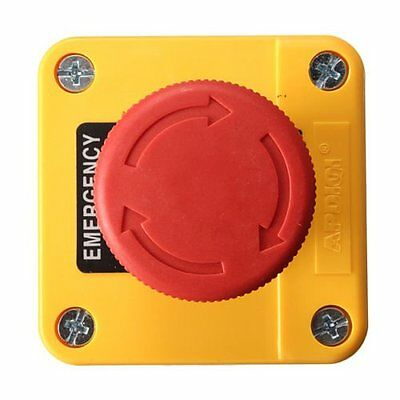 Emergency Stop Push Button Waterproof 660v 10a Red Sign Switch