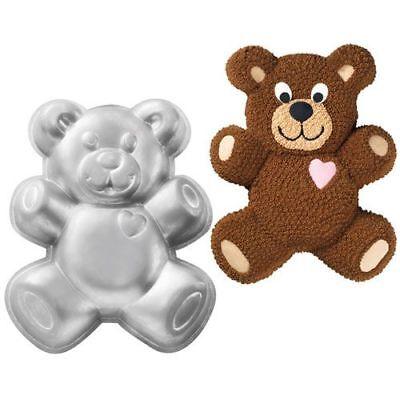 Wilton Teddy-Bär Backform aus Aluminium Bär Kindergeburtstag Kuchen (Teddy Bär Form)