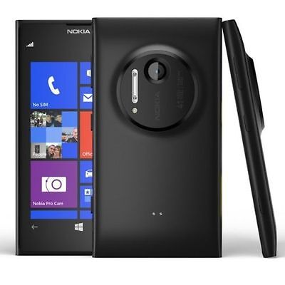 Nokia Lumia 1020 32Gb 41Mp 4 5  4G Lte Gsm At T Unlocked Win8 Smartphone Black
