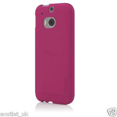 Incipio NGP Impact Resistant Case Cover for HTC One M8 (Translucent Pink) Translucent Pink Case Cover