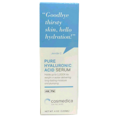 BEST-SELLING 100% Pure Hyaluronic Acid Serum- Intense Hydrat