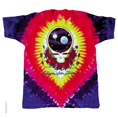 New GRATEFUL DEAD Space Your Face TIE DYE T Shirt 2 SIDED LICENSED ROCK SHIRT](Grateful Dead Space Your Face Shirt)