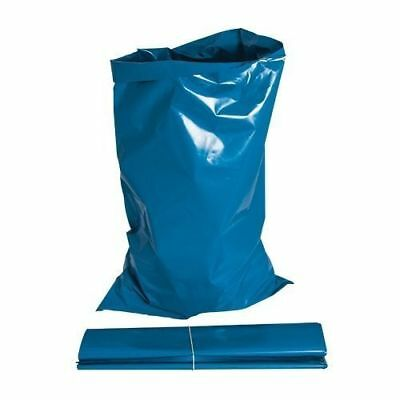 7 x Large Blue Strong Rubble Sacks Garden Builders Rubbish Waste Bag