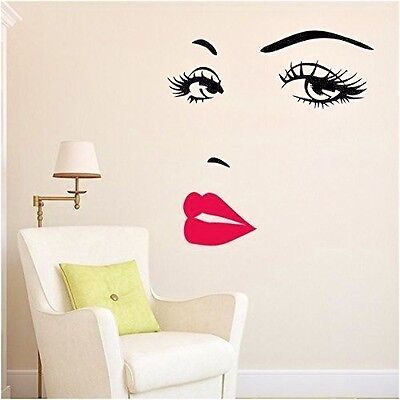 Removable Wall Decal Vinyl Art Mural DIY Home Room Decor Quotes Stickers Women