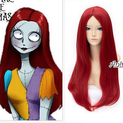 - Rote Perücke Für Halloween
