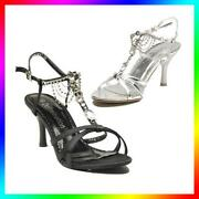 Ladies Silver Wedding Shoes