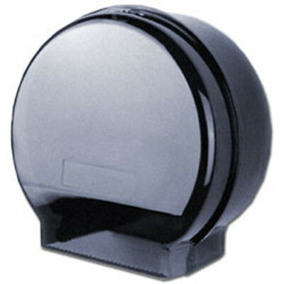Cwc Jumbo Single Roll Toilet Paper Dispenser Gray