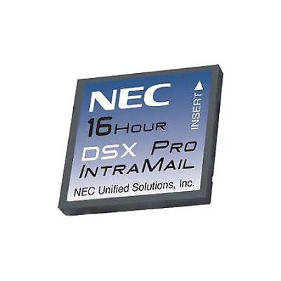 Nec Dsx 40 80 160 Intramail 1091051 V2.2.1t 4 Port 16 Hour Pro Flash Voice Mail