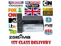 Zgemma Box watch live tv and record! £100 bs