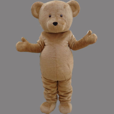 Teddy Bear Adult Mascot Costume Fancy dress For Festivals birthday party