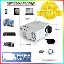 Xmas SALE!!! BRAND NEW! Portable Mini HD LED Home Projector Black Sydney City Inner Sydney Preview