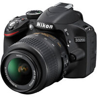 Brand new Nikon D3200 with case