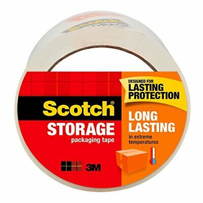 Scotch Long Lasting Storage Packaging Tape 1.88 In. X 54.6 Yd 1 Rollpack