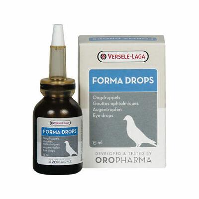 Versele Laga Oropharma Forma Drops Pigeon Eye Drops Nasal Drops Racing Pigeons