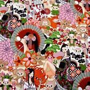 Asian Print Fabric