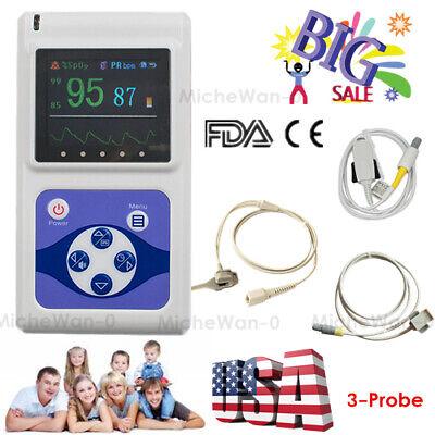 Infant Child Neonatal Adult Spo2 Pulse Oximeter Oled Finger Digital Monitorsw