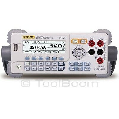 Rigol Dm3058e Bench Type Digital Multimeter True Rms 5 Digit Usbrs-232