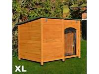 Wooden Dog Kennel XL 120x85x91cm