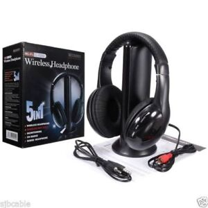 5 IN ONE BLUETOOTH WIRELESS HEAD SET GOING FAST