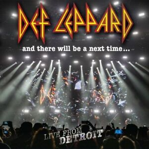And There Will Be A Next Time Live Detroit - Def Leppard 2 CD&DVD Sealed! New!