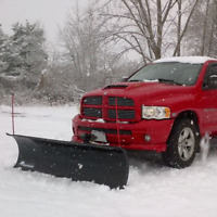 Snow Plow service book today