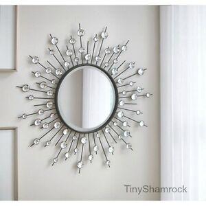 Silver Sunburst Mirror Ebay