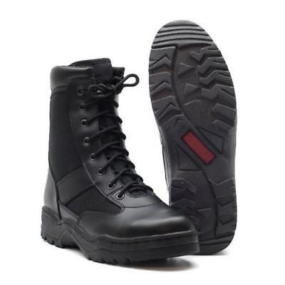 Security Stiefel Swat Boots Kampfstiefel Motorradstiefel schwarz Gr. 39 - 47 (Stiefel Swat)