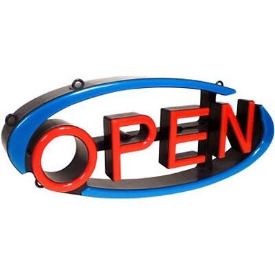 Mystiglo Led Open Swivel Sign Remote Wflashing Horizontal Or Vertical No Tax