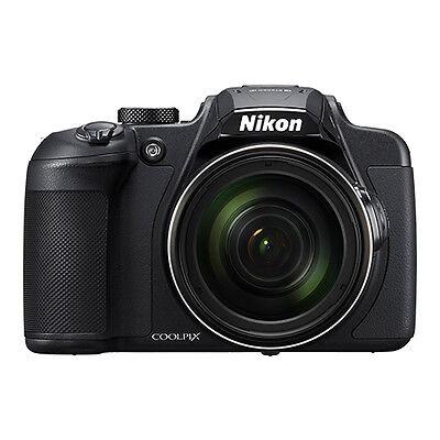 Nikon Coolpix B700 20.2MP 4K Digital Camera 60x Optical Zoom Black WiFi/ NFC