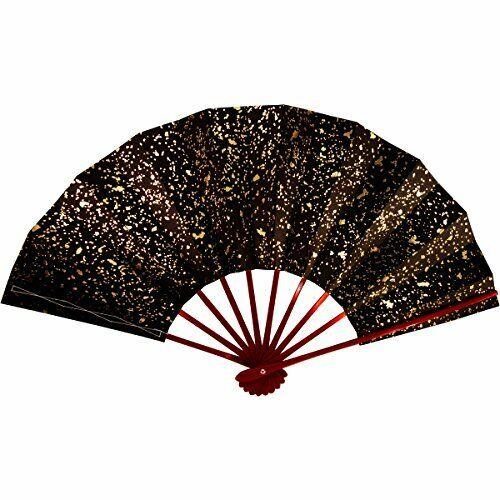 Fan for Japanese Dance Mai-ougi Hime 403 Kinsago 29cm 11inch Vermilion Black